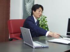 税理士による融資申請の打ち合わせ